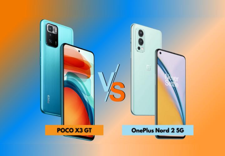 POCO X3 GT vs OnePlus Nord 2 5G