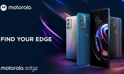 Motorola Edge 20 family officially revealed
