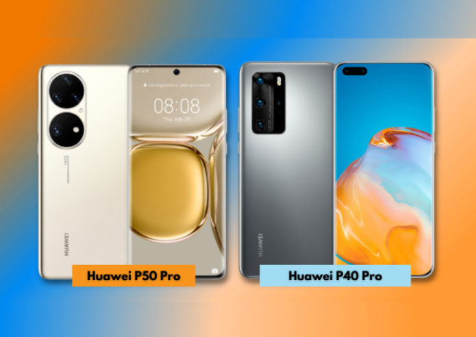 Huawei P50 Pro vs P40 Pro