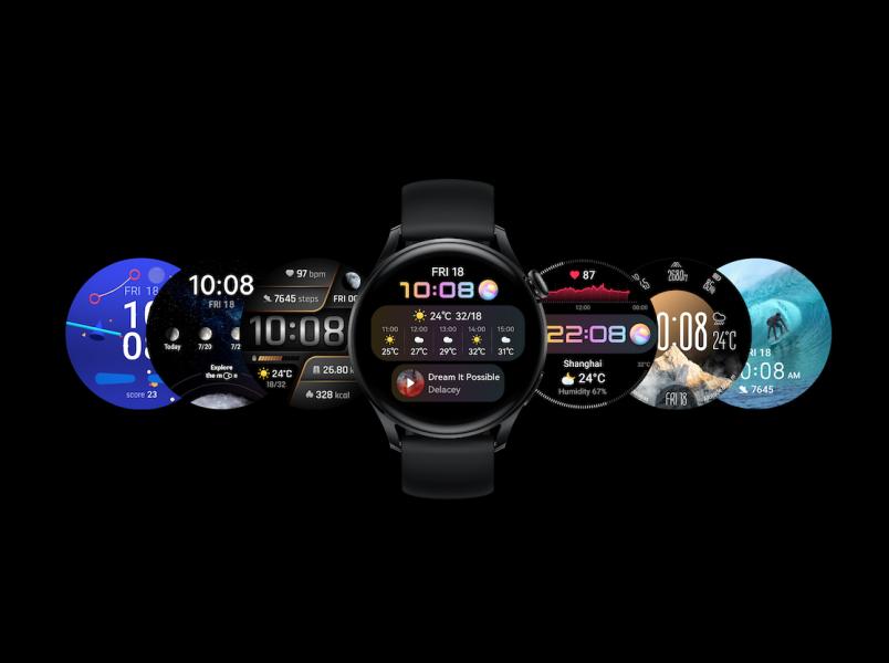 Huawei Watch 3, FreeBuds 4