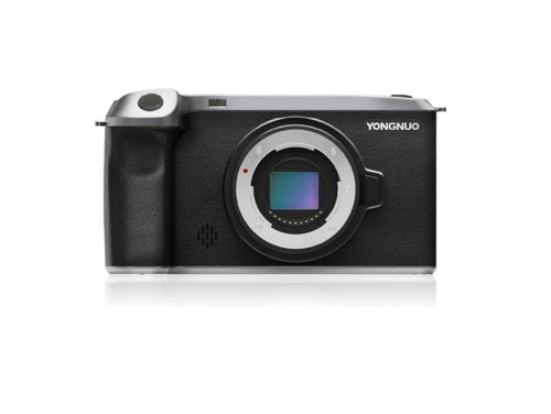"""Yongnuo's new Android 10-powered MFT camera features 20MP sensor, 5"""" touchscreen display"""