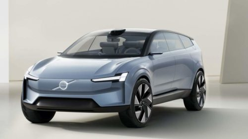All-electric, this Volvo Concept Recharge teases the shape of SUVs to come