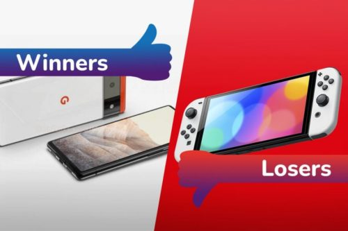Winners and Losers: Nintendo Switch OLED underwhelms while the Pixel 6 excites