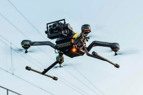 Acecore Zoe Zetona Drone Mounts Its Camera Payload Out Front For Top-To-Bottom Visibility