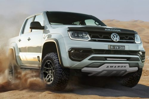 Volkswagen Amarok W580X revealed
