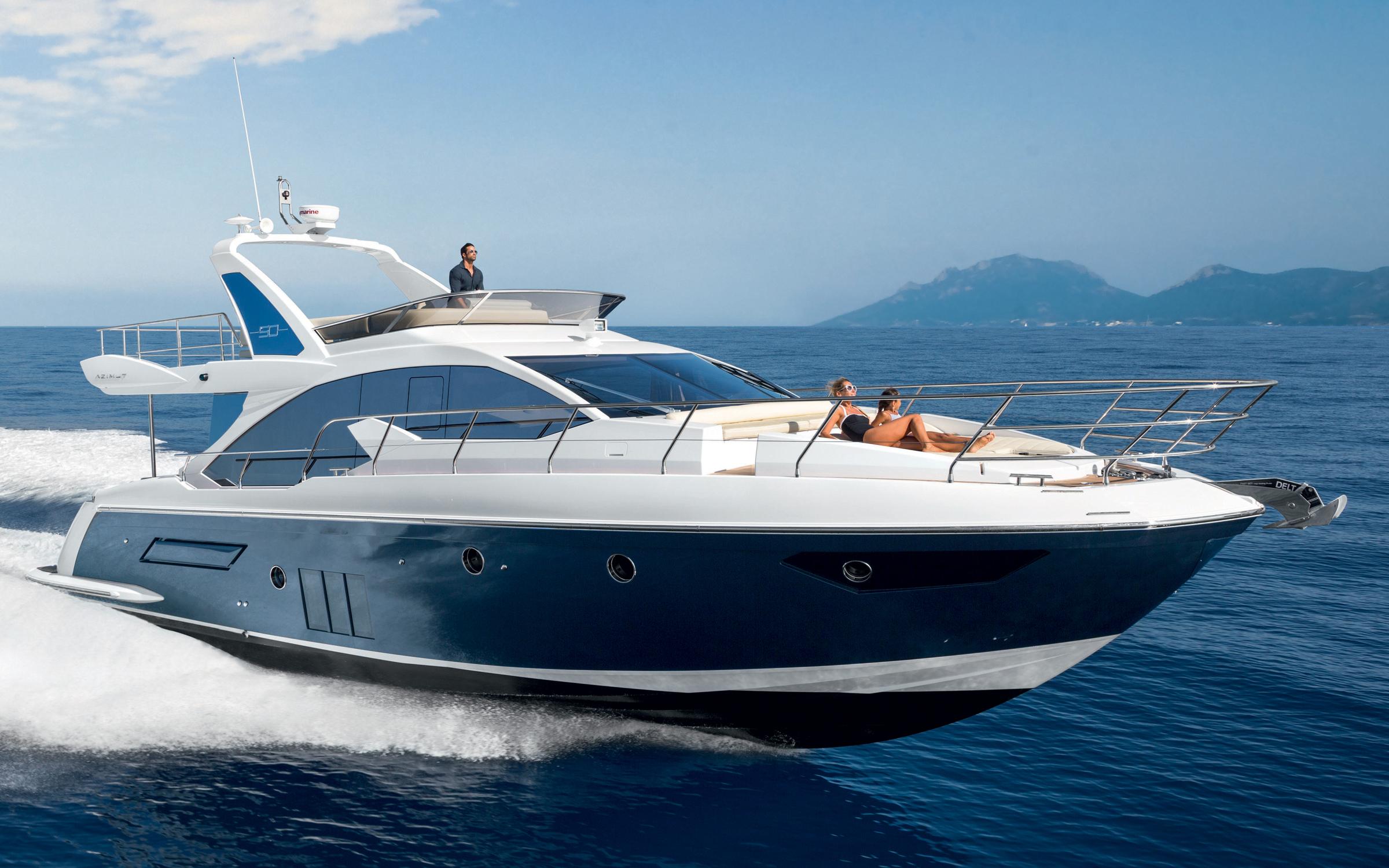 Azimut 50 yacht