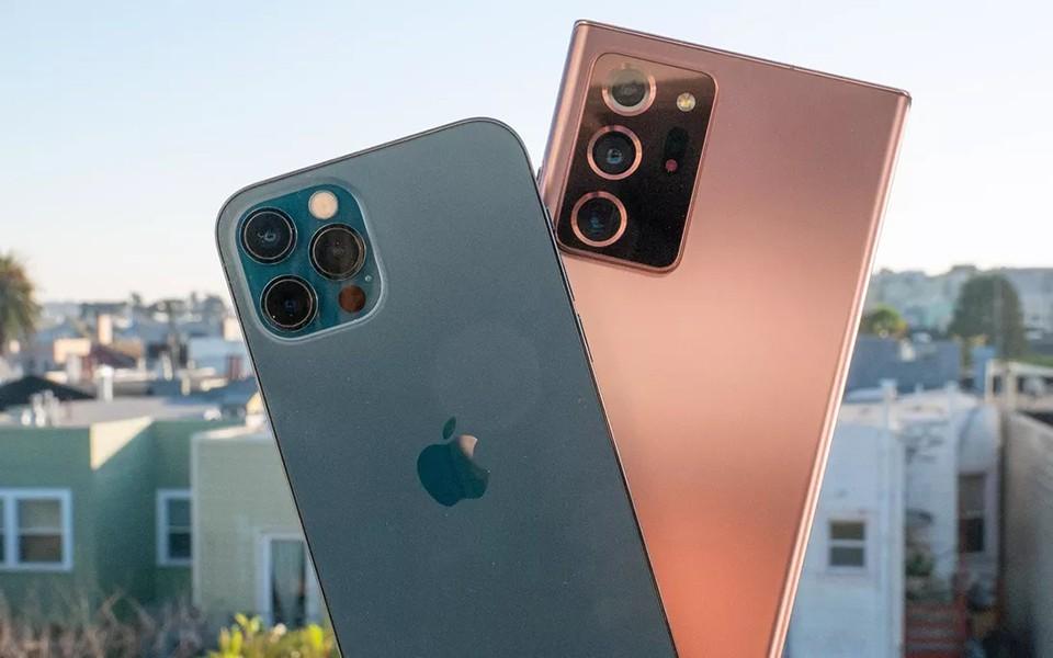 iPhone 12 Pro vs Samsung Galaxy Note 20 Ultra