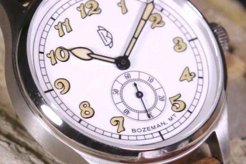 This New Watch from Montana Is a Throwback to Old-School Watchmaking