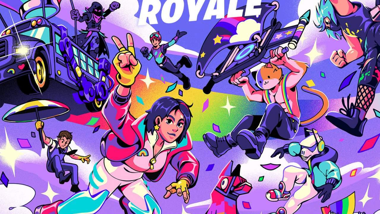 Fortnite Rainbow Royale