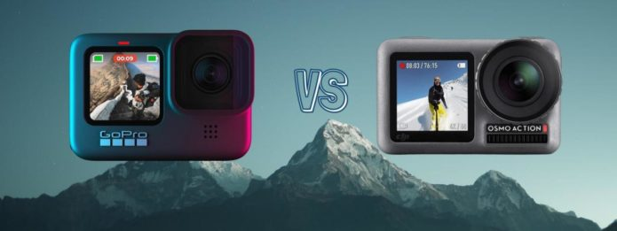 GoPro Hero 9 vs DJI Osmo Action