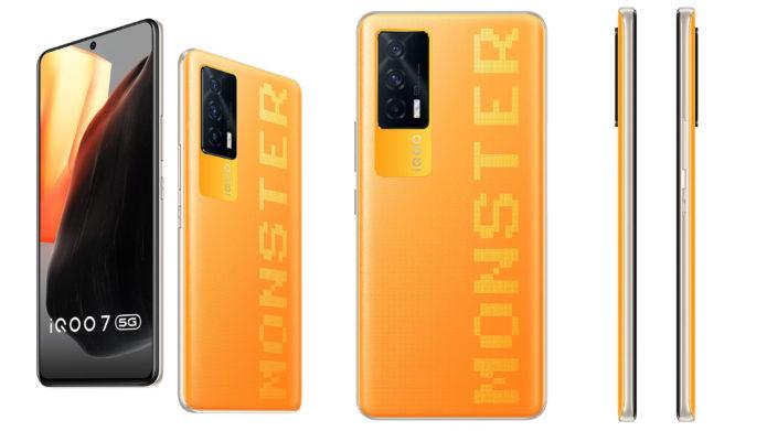 iQOO 7 Monster Orange