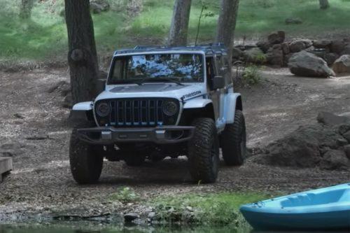 Jeep Wrangler EV on its way