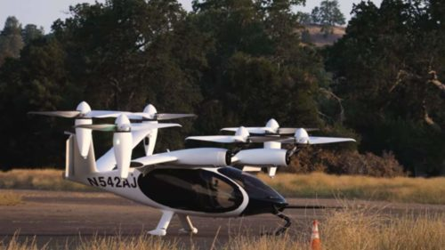 Joby Aero full-sized prototype air taxi flies more than 150 miles on a charge