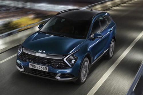 Kia Sportage Hybrid revealed