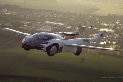 The flying car you've been waiting for