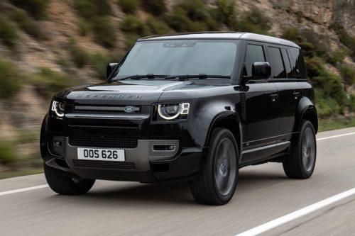 Land Rover Defender SVR linked to BMW V8