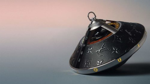 Louis Vuitton Horizon Light Up Speaker plays your music in style