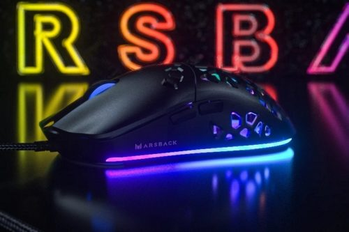 Marsback Zephyr Pro Gaming Mouse Uses A Built-In Fan To Prevent Sweaty Palms