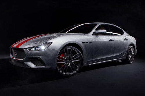 Maserati Ghibli Trofeo Corse arrives