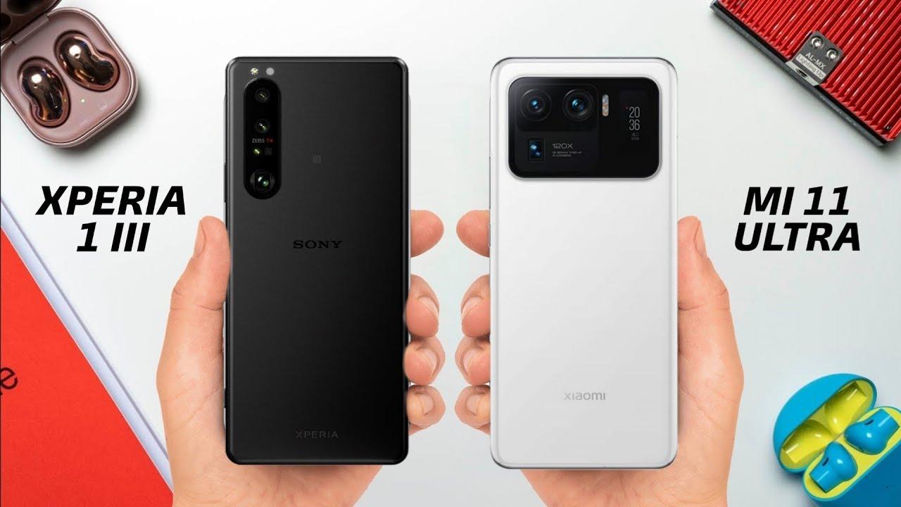 Sony Xperia 1 III vs. Xiaomi Mi 11 Ultra