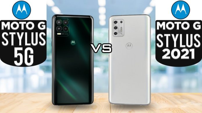Moto G Stylus 5G vs. Moto G Stylus (2021)