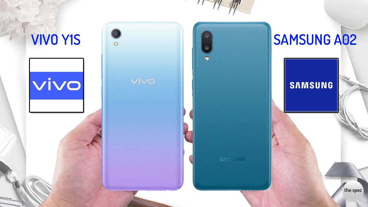 Vivo Y1s vs Samsung A02