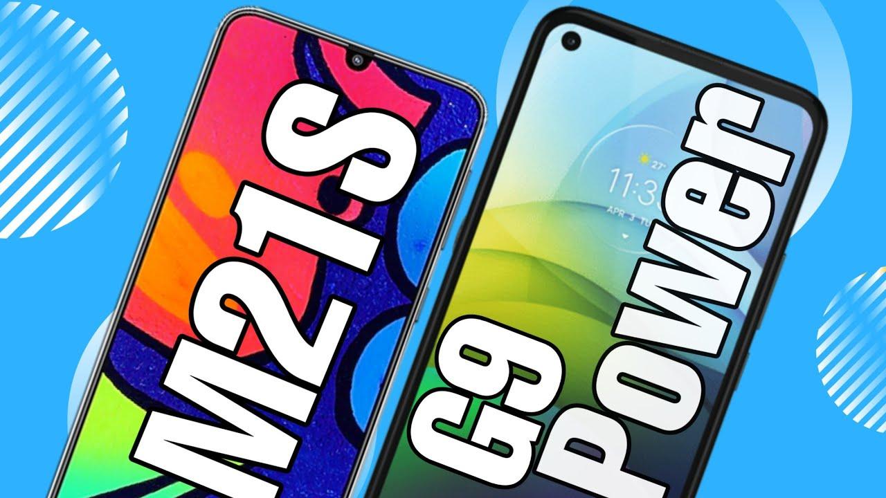Moto G9 Power vs Galaxy M21S