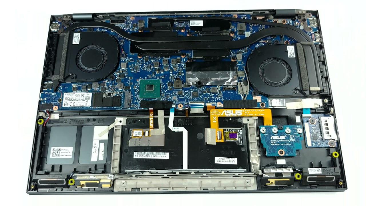 Inside ASUS ZenBook Pro 15 UX535