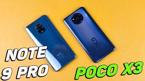 Redmi Note 9 Pro vs Poco X3: compare price and datasheet