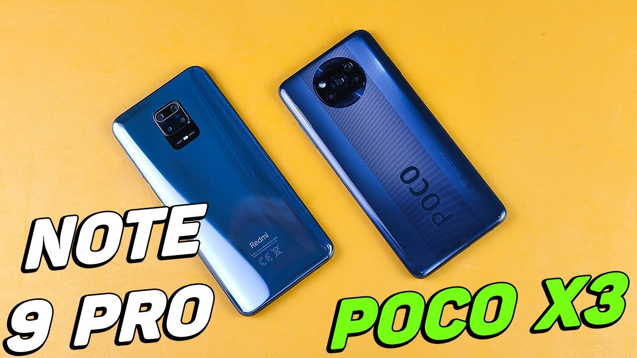 Redmi Note 9 Pro vs Poco X3