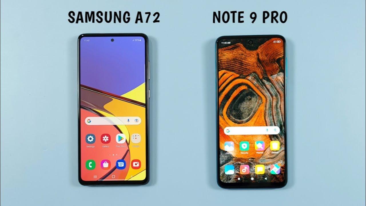 Galaxy A72 or Redmi Note 9 Pro