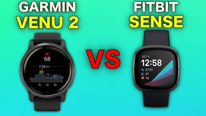 Garmin Venu 2 vs. Fitbit Sense