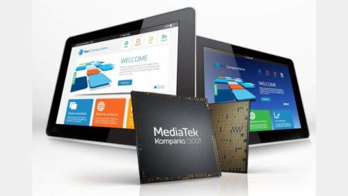 MediaTek Kompanio 1300T wants to give tablets a leg up