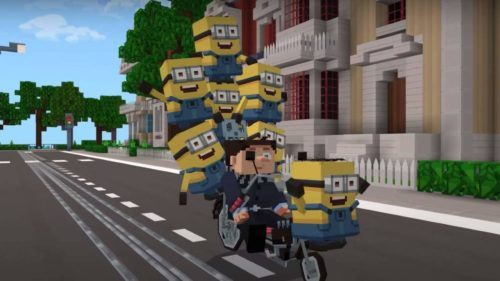 Minecraft Minions DLC arrives with Gru, villains, and a ton of outfits