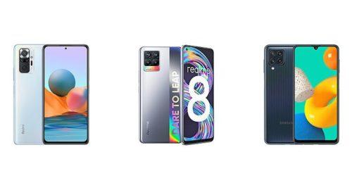 Redmi Note 10 vs Realme 8 vs Samsung Galaxy M32: Specs Comparison