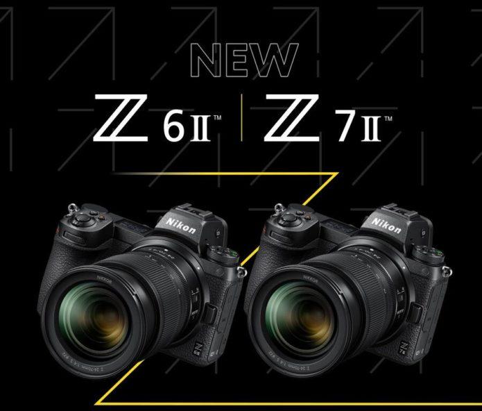 Nikon Z7 II, Z6 II