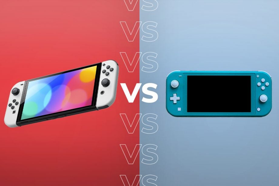 Nintendo Switch OLED vs Nintendo Switch Lite