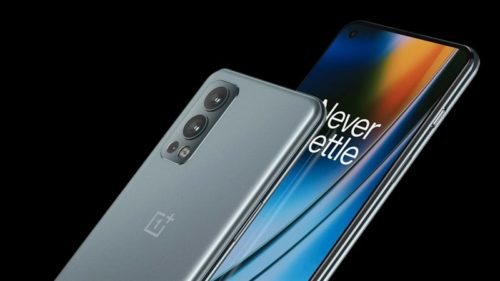 [Exclusive] OnePlus Nord 2 5G render shows off display with corner punch-hole camera and slim bezels