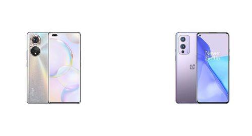 Honor 50 Pro vs OnePlus 9: Specs Comparison