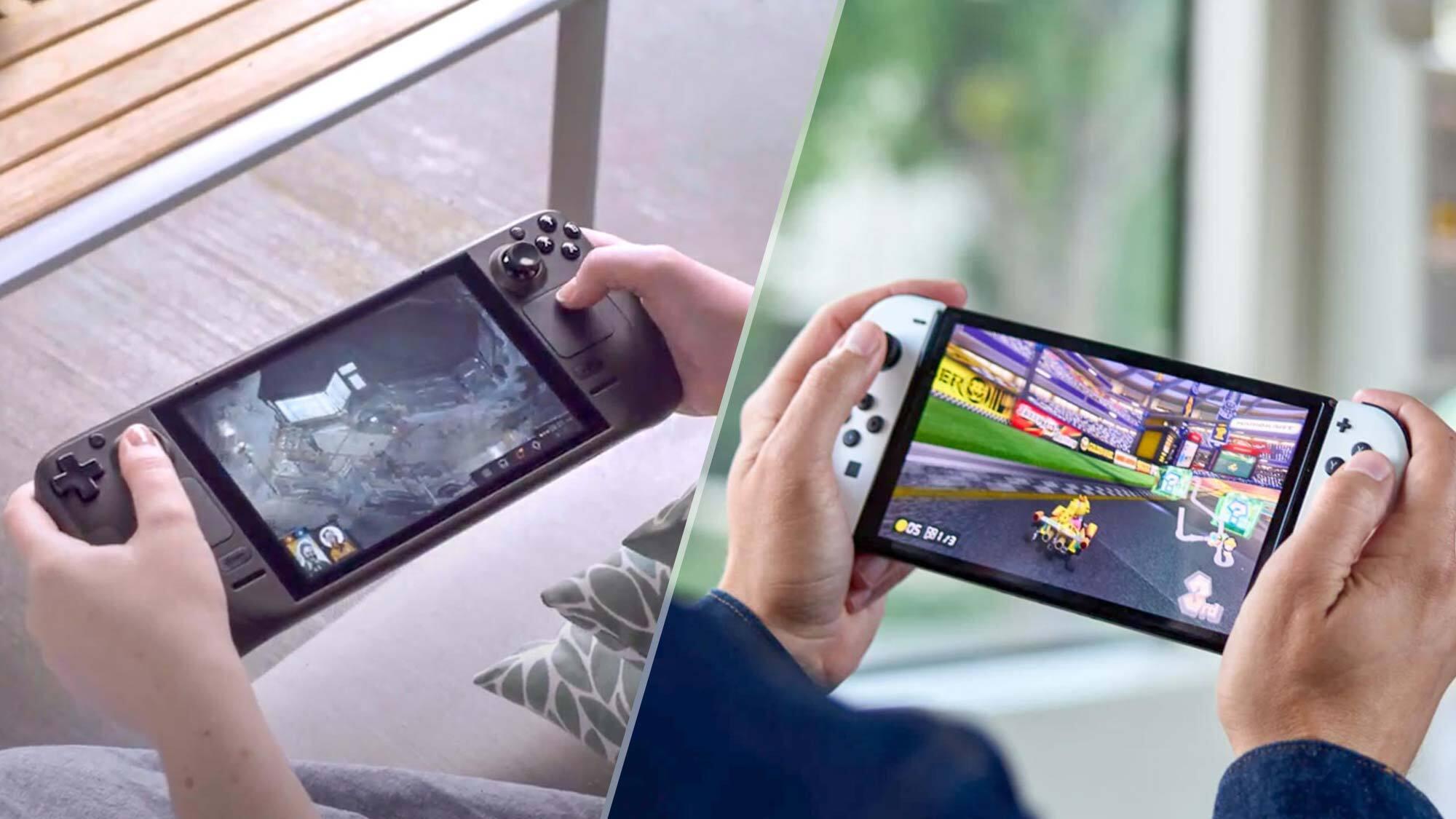 Valve Steam Deck vs Nintendo Switch OLED