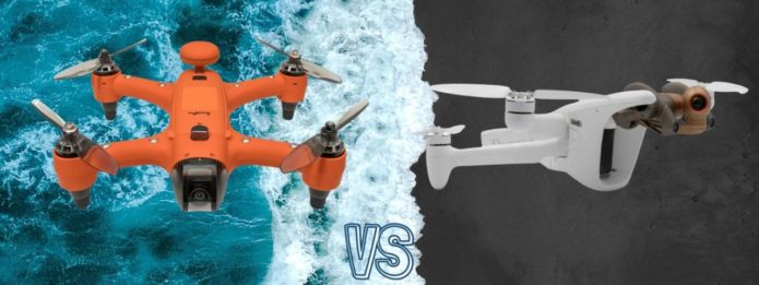 Parrot Anafi AI vs Swellpro Spry+