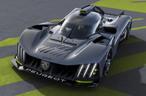 Peugeot 9X8 Le Mans Hypercar Rendered As Street-Legal Machine