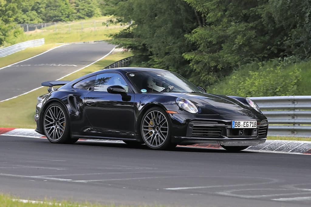 Porsche 911 Turbo S E-Hybrid
