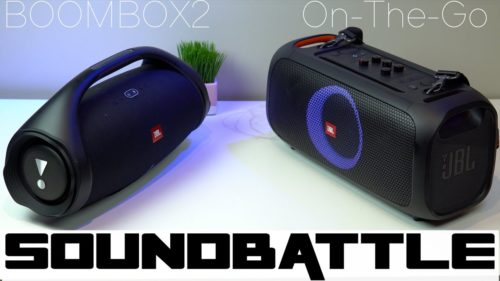 JBL Boombox 2 or JBL PartyBox On-the-Go? Compare Bluetooth speakers