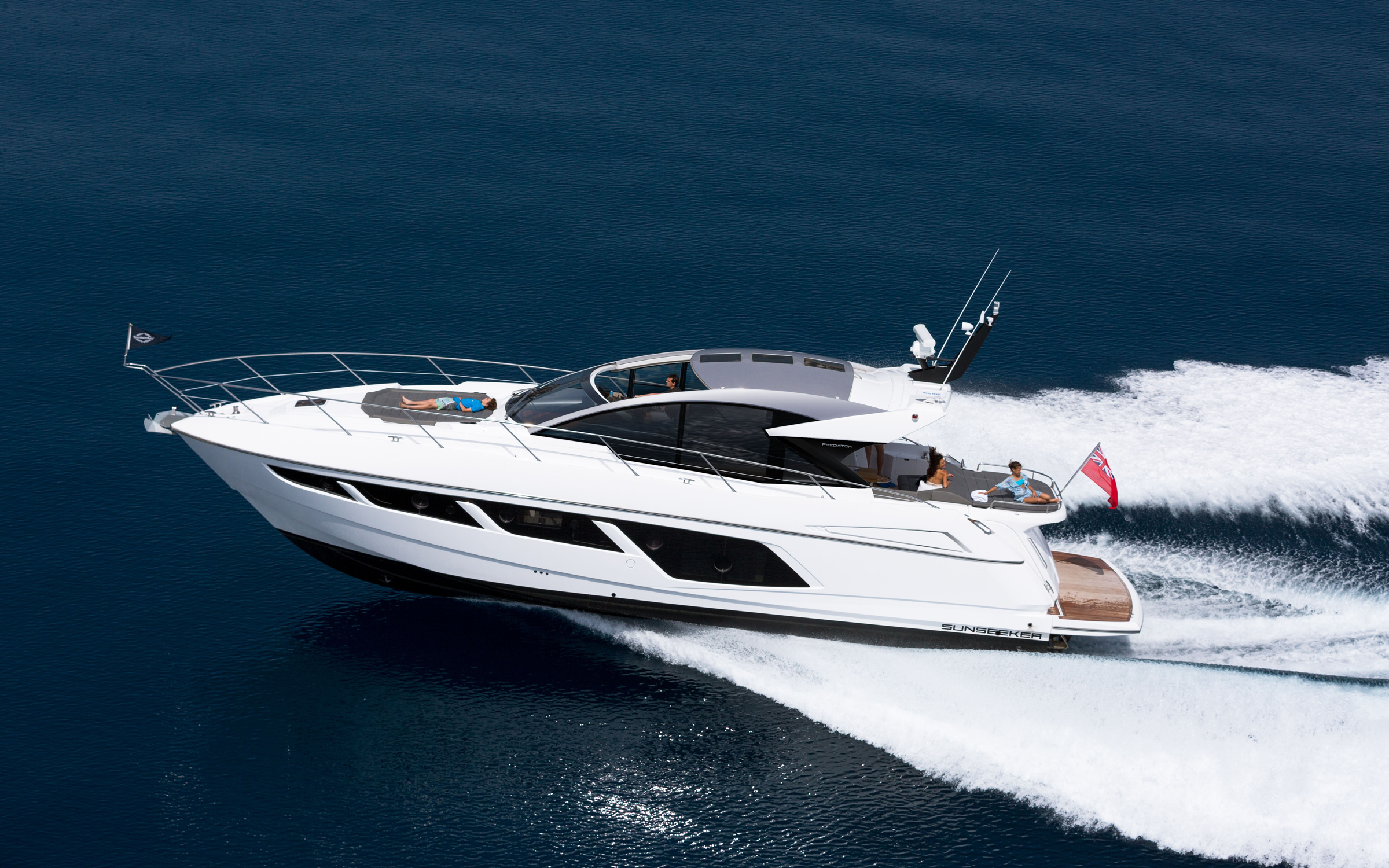 Sunseeker Predator 57 yacht