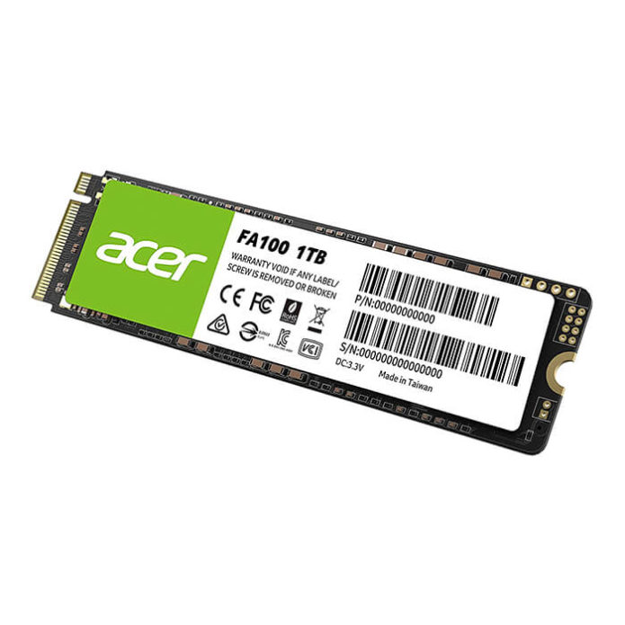 ACER FA100 1TB PCIe Gen3 x4 M.2 SSD