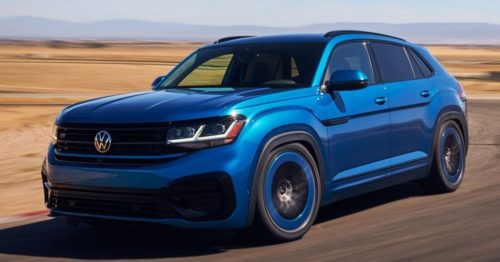 VW Atlas Cross Sport GT Concept Revealed With Low Ride, More Power