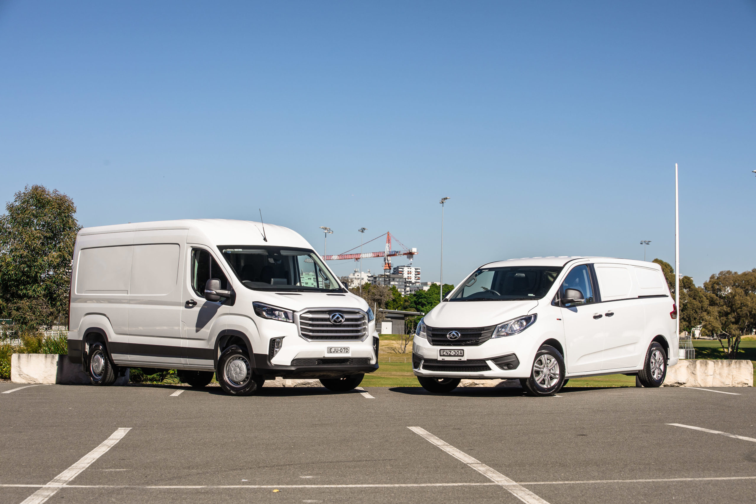 LDV G10 and LDV Deliver 9