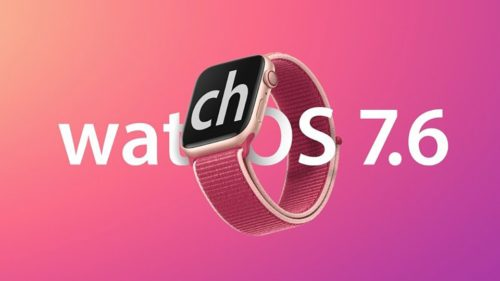 watchOS 7.6 is here for Apple Watch, but it'll probably bring you literally nothing