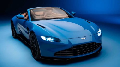 2021 Aston Martin Vantage Roadster First Drive Review: Icy Cool